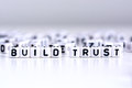 Build trust concept Royalty Free Stock Photo