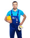 Builder - Construction Worker Royalty Free Stock Photo
