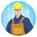 Builder icon Royalty Free Stock Photo