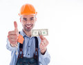 A builder man Stock Photography