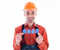 A builder man Stock Photos