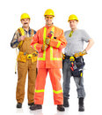 Builders Stock Image