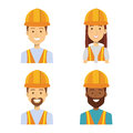 builders group avatars characters