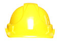 Builders hard hat safety helmet studio cutout Royalty Free Stock Photo