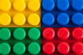 Building blocks composition of colorful Stock Images