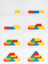 Building Blocks Sequence Stock Image