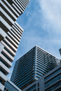 Building in blue sky bangkok Stock Images