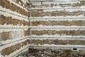 Building bricks wall Royalty Free Stock Photo