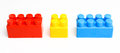 Building colorful blocks Royalty Free Stock Photo