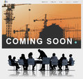 Building Construction Engineering Renovate Site Concept Royalty Free Stock Photo