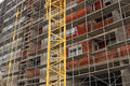 Building construction site detail Royalty Free Stock Photo
