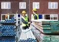 Building contractors Royalty Free Stock Photo