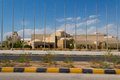 The building beside the dead sea on way from jordan s capital amman to Royalty Free Stock Image