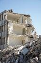 Building demolished Royalty Free Stock Image