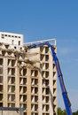 Building demolition Royalty Free Stock Image