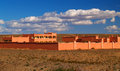 Building in the desert of morocco traditional Stock Photography
