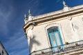 Building Detail in Plaza de la Catedral in Old Havana, Cuba Royalty Free Stock Photo