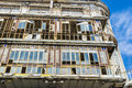 Building in disrepair the old town of lisbon portugal Royalty Free Stock Photos