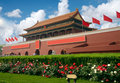 Building in the forbidden city Beijing Royalty Free Stock Image