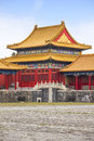 Building in the forbidden city beijing china Royalty Free Stock Images