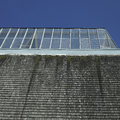 Building with glass roof Stock Photography