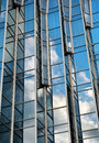 Building glass wall Stock Image