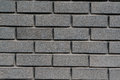 Building gray brick stacked neatly Royalty Free Stock Photography