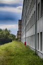 Building at historic nazi prora beach resort renovated part of a in germany Royalty Free Stock Photography
