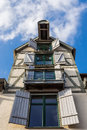 Building historical in rostock germany Royalty Free Stock Image