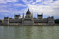 Building of hungarian parliament budapest Stock Image