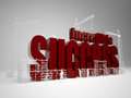 Building incredible success high quality d render Stock Images