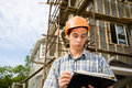 Building inspector Stock Photography