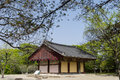 The building in korean temple bunwhangsa gyeongju city south korea Royalty Free Stock Photos