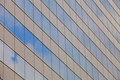 Building mirror glass wall Royalty Free Stock Photography