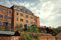 Building of old factory. Rostov-on-don, Russia Royalty Free Stock Photo