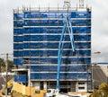 Building progress 128. At 47 Beane St. Gosford. September 2018. Royalty Free Stock Photo