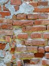 Building repair bricks wall detail Royalty Free Stock Photo