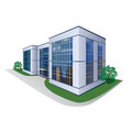 Building of the shopping center office prospect Royalty Free Stock Photography