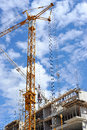 Building site detail Royalty Free Stock Photo