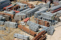 Building site storage yard Stock Photography