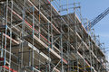 Building site, tools and scaffold 9 Royalty Free Stock Photo