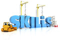 Building skills concept Royalty Free Stock Images