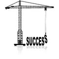 Building success Royalty Free Stock Photo