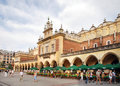 Building sukiennice cloth hall krakã w krakow poland Royalty Free Stock Image