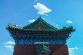 Building in temple of heaven beijing Stock Images