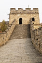 Building Tower on Great Way in Mutianyu Royalty Free Stock Images