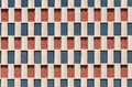 Building windows abstract background pattern Stock Photography
