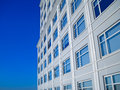 Building Windows Blue Sky Scraper Royalty Free Stock Photo