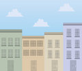Buildings Apartments Royalty Free Stock Photo
