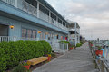 Buildings On The Boardwalk At ...